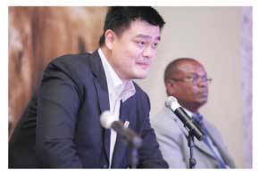 Basketball star, Yao Ming has launched a public awareness campaign in his native China to stop the demand for ivory and rhino horn.