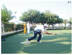 Will Esterhuizen, 2011 and 2012 Champion is once again one of the favourites at this year's National Bowls Championships.