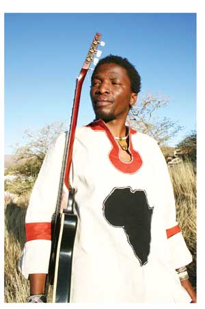 Singer, poet, songwriter Elemotho brings a taste of his Ke Nako Africa tour to Namibia next week at the Warehouse Theatre.