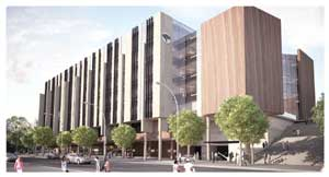 FNB's independently certified green headquarters. This building will be the first of its kind in Namibia.