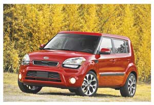 The all new Kia Soul, for the young at heart.
