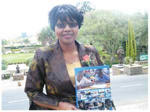 Minister of Finance Saara Kuugongelwa-Amadhila