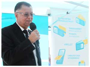 The CEO of Rehoboth Town Council Mr Theo Jankowski said consumers have made cell phones their preferred mobile devices, also for financial transactions.