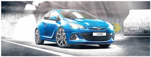 More muscle than ever and a roar of attitude, the all new Opel Astra OPC.