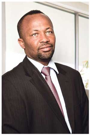 Junius, Managing Partner of Deloitte Namibia who is leaving the company on the 31st of December.