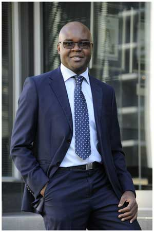 Acting Development Bank CEO, Martin Inkumbi.
