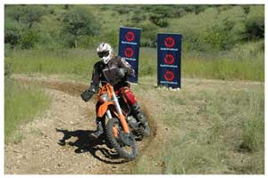 As always, KTM riders enjoy the benefit of a powerful and robust bike in the Enduro races.