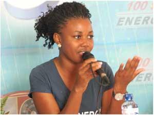 Helena Ngaifiwa of Energy 100FM.