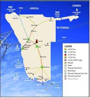 Nampower has enlisted the services of consulting engineers to review the technical aspects of the four major transmission substations carrying electricity from South Africa all the way to Walvis Bay.