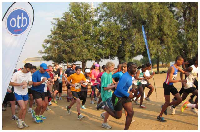 Close to 700 people are expected to take part in this year's 21.1km Windhoek City run which mainly focuses on family and community health at the same time showcasing the best the City has to offer.