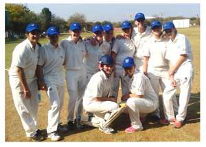 The Namibian ladies team. Front row, from left, Yasmeen Khan, Lume Nel, Estie Brand, Juane Globler, Hannelise de Klerk, Rehana khan, Chantelle Esterhuisen, Kayleen Green, Chantelle Esterhuizen. Front row, from left, Carmen Engelbretch and Eunice Esterhuisen.
