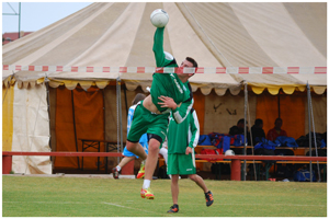 U18 national team player, Rico Kühnle-Kreitz, will be in action for SKW 2 in the final of the Bank Windhoek National Fistball championship on Saturday.
