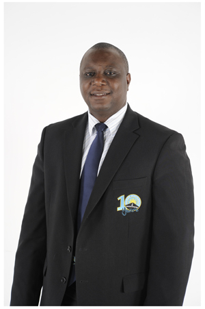 Conrad Lutombi is the new Roads Authority CEO