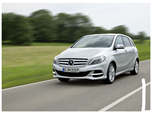 Exceptionally classy and charming, the all new Mercedes Benz B Class
