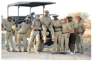 Left to right, Erwin Kasupi, Aaron Kahengombe, De Villiers van Jaarsveld, Hillary Roman, Immanuel Stefanus, Solomon Tsueb, Tanigu Uiseb and Mattheus Kemp.