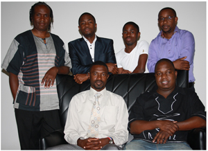 Members of  the newly elected Directorate of the Namibia Community Broadcasters Network Trust.