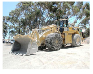 Front-end loaders at the Lafarge cement factory in South Africa was used in a pilot project to determine the cast savings of the Rentar Fuel Catalyst.