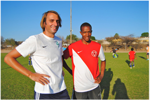 DTS head coach Arne Dreyer (left) and his assistent Kauningua Kukuri are looking forward to this weekend's event.