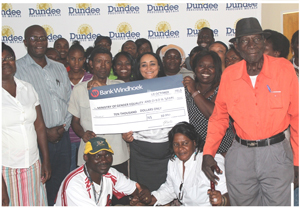Residents of Tsumeb and the San communities of Ombili and Ondera attended capacity-building workshops on a number of key Namibian laws during October, thanks to an initiative sponsored by Dundee Precious Metals Tsumeb.