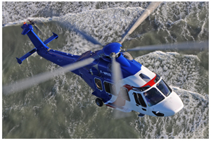 Bigger brother of the Namibian Police's Eurocopter EC145, the EC175 earlier this month set new Time to Climb records.