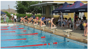 A total of 133 swimmers entered for this last opportunity to qualify for the Bank Windhoek Namibian Swimming Championships which will take place at the end of November at the Olympia swimming pool in Windhoek.