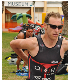 The 2013 FNB Desert Triathlon will see a record attendance of athletes.