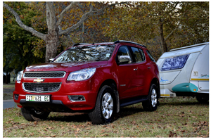 Chevrolet's new Trailblazer with either 2.5 or 2.8 litre diesel engine, or 3.6 litre petrol, is a powerful, yet sophisticated SUV built for comfort as well as good off-road ability. It has proven itself as a strong and reliable towing vehicle.