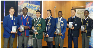 The best achievers in schools in Walvis Bay, Swakopmund and Lüderitz each received an Asus Phonepad from logistics company, Manica who invested some N$40,000 in its educational incentive programme which forms part of the company's Corporate Social Investment allocation. Manica also sponsored gift vouchers (N$5,200) to various Walvis Bay primary schools and a further N$1,500 to the Helena van Rijn Primary school in Lüderitz.