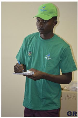Junias Erasmus, Chief Information Officer at Namibia Statistics Agency.