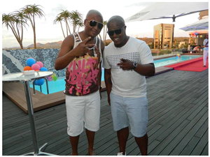 South African House DJs Vetkuk and Mahoota stole the show at the Summer House Festival.(Photograph by Melba Chipepo)