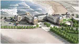 Construction of the impressive new Strand Hotel in Swakopmund started during November. The hotel is owned and will be operated by O&L Leisure, a subsidiary in the O&L Group.