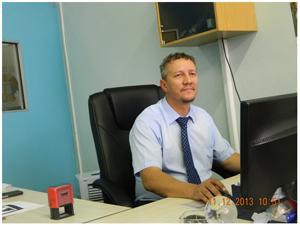 Johan van Kradenburg, Managing Member of Advanced Travel & Tours