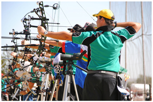 Aim, pull and shoot, a 12 year old won the year end shoot-out of the Sport Club Windhoek (SKW).