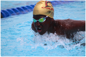 Haifeni Haikali of Dolphins is one of the favourites that will show his mettle this weekend at the Bank Windhoek Long Course Gala and Aquapentathlon this coming weekend at the Olympia swimming pool.