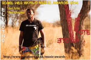 The voice from the Kalahari has been nominated for a major music award again.