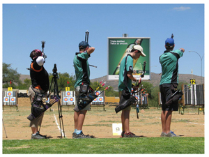 The SKW sports grounds in Olympia will once again play host to this year's Afro Pumps series of archery competitions.