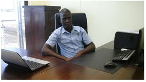 Jacob Hamutenya, Regional Manager of the Ongwediva Fresh Produce Hub.