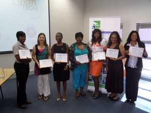 A group of graduates who completed the first Femtech entrepreneurship programme.