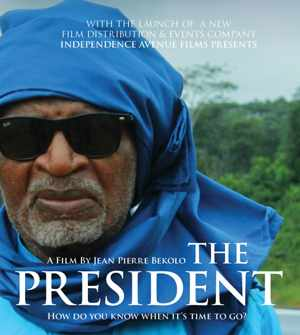 Independence Avenue Films launched their company this week at the Warehouse Theatre in Windhoek and to celebrate their launch they screened the Cameroonian film, The President.