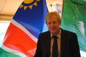 Mr Hans Nolte, Vice President and GM of Dundee Precious Metals