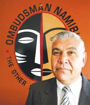 Advocate John Walters, Ombudsman of Namibia.