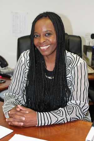 Standard Bank's Group Company Secretary, Advocate Sigrid Tjijorokisa.