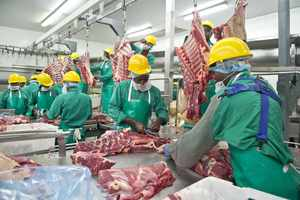 The EU export approved Meatco abattoir is the only exporter of prime beef to the EU market.