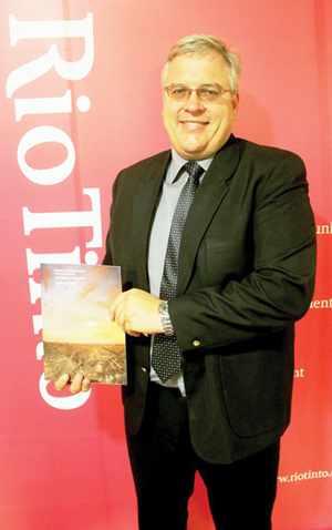 Werner Duvanhage, Managing Director of Rössing Uranium