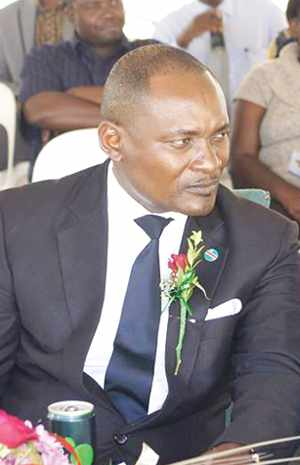 Deputy Minister of Environment and Tourism, Hon. Pohamba Shifeta.