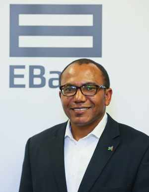 EBank's newly appointed Chief Executive Officer, Mike Mukete