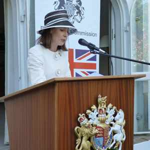 British High Commissioner to Namibia, HE Marianne Young, spoke endearing words on the celebration of the British queen's birthday.