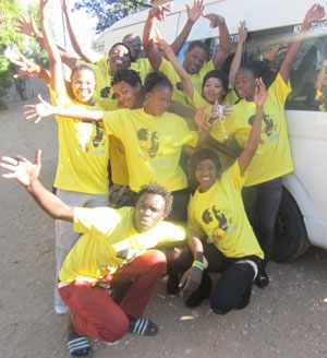 The OYO Dance Troupe started their tour of the country this week to raise awareness of the rights of children.