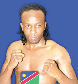 'Smokey Joe' to get a chance to slug it out with local hard hitting bantam weight pugilist Immanuel Prince Naindjala