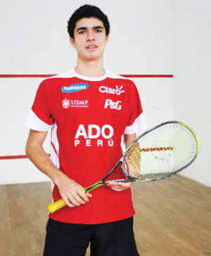 Players like Diego Elia will travel from as far as Peru to make up the strong contingent of 167 credible players from around the global to grace the historical squash show piece that is to take place in August.